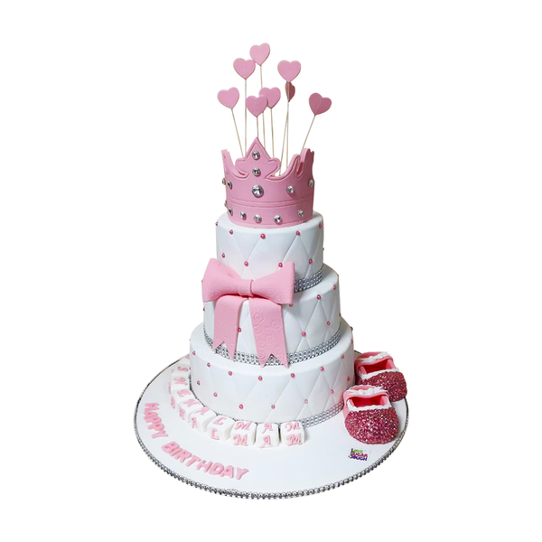 Princess 3 Tier Cake