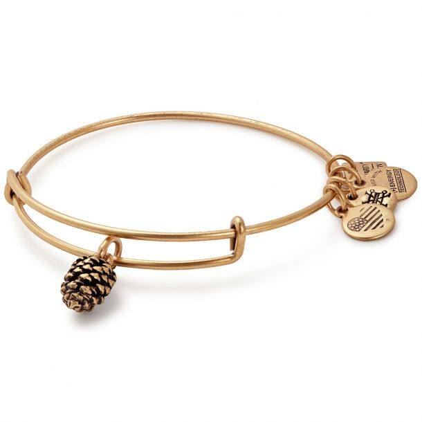 Alex & Ani Pinecone Bangle