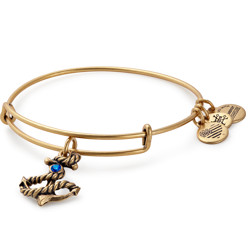Alex & Ani Anchor Charm Bangle