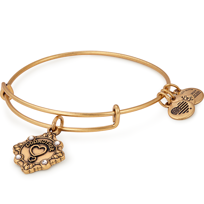 Alex & Ani Godmother Charm Bangle