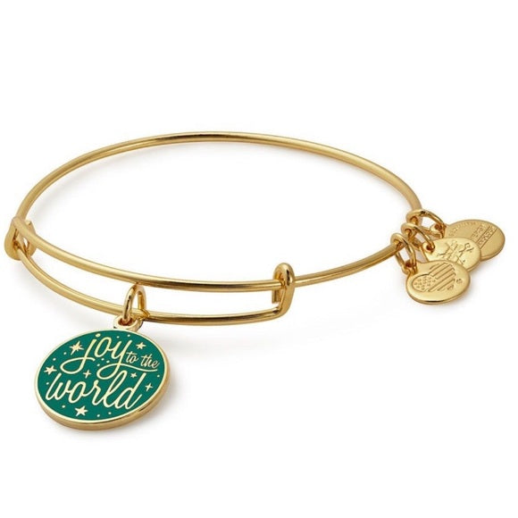 Alex & Ani Joy To The World Charm Bangle