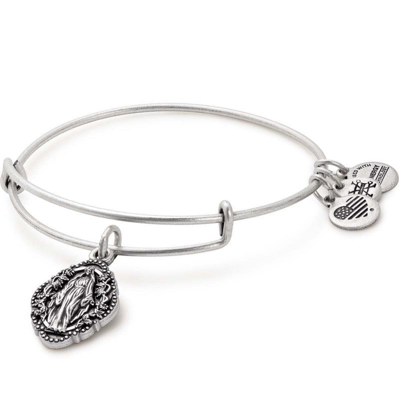 Alex & Ani Mother Mary Charm Bangle