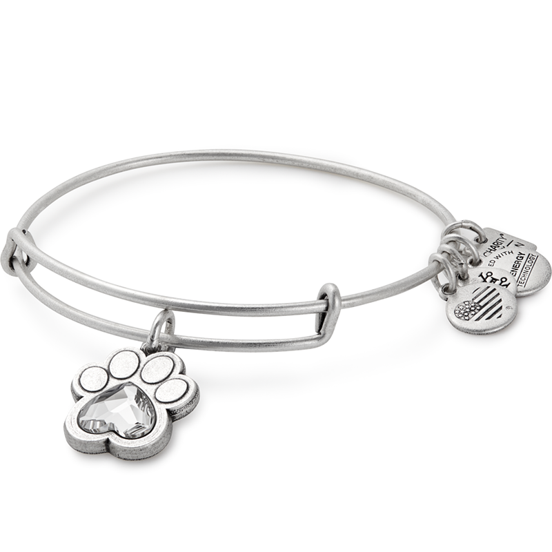 Alex & Ani Prints of Love Charm Bangle