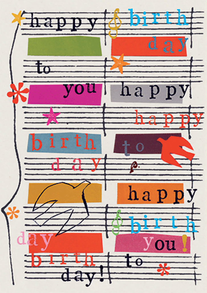 Sing Happy Birthday
