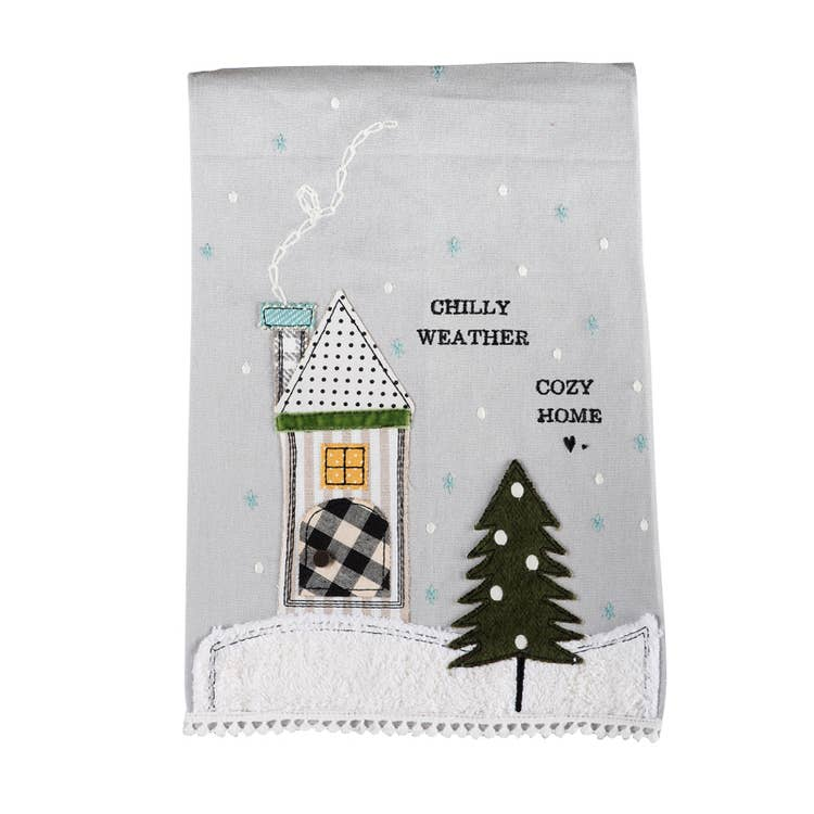 Chilly Weather Tea Towel