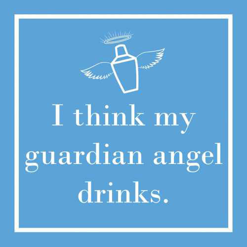 Cocktail Napkins Guardian Angel