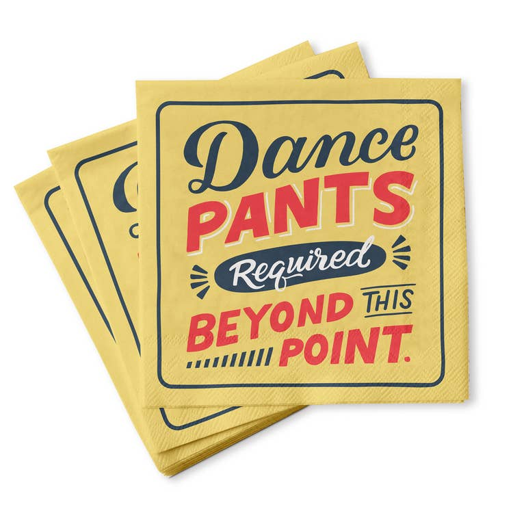 Cocktail Napkins Dance Pants
