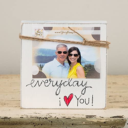 Everyday I Love You Twine Frame