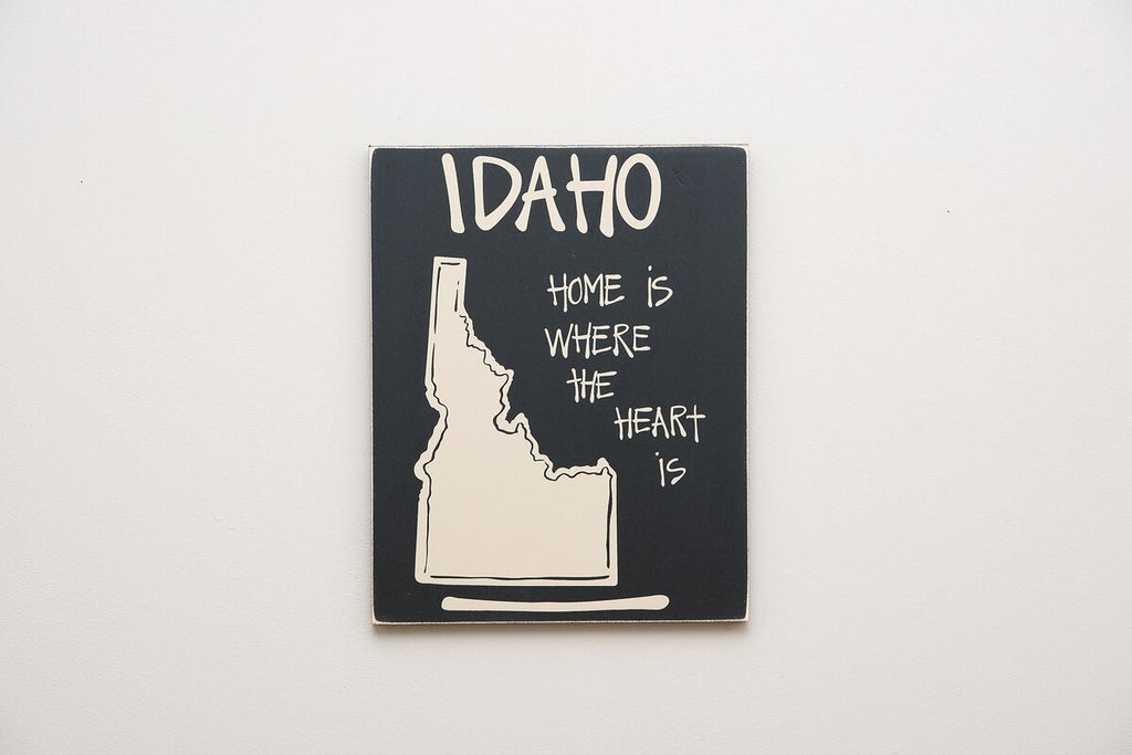 State of Idaho Sign