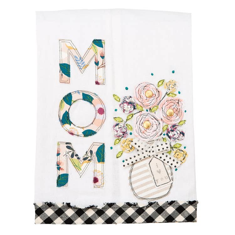 I Love You Mom Tea Towel