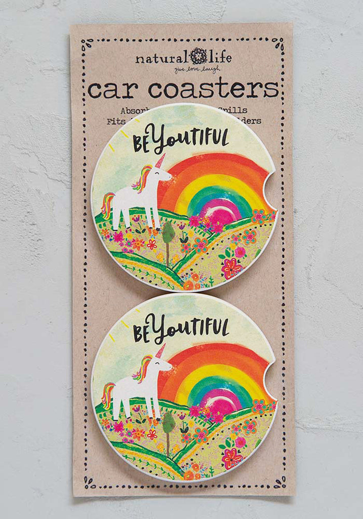 Unicorn Car Coasters (2)