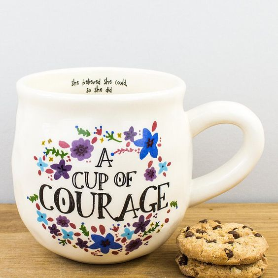 Cup of Courage Mug