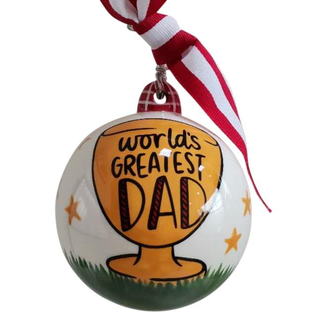 World's Greatest Dad Ornament
