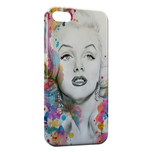 Fundas iPhone 8 & 8 Plus Marilyn color iPhone 5