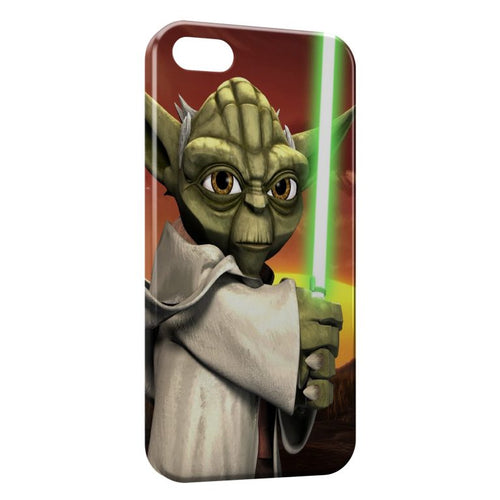 Fundas iPhone 8 & 8 Plus Yoda Star Wars Anime Green