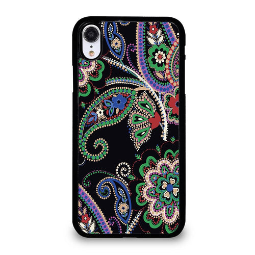 coque custodia cover fundas iphone 11 pro max 5 6 7 8 plus x xs xr se2020 C28249 PARISIAN PAISLEY VERA BRADLEY 7 iPhone XR Case