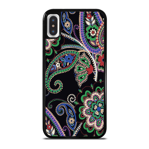 coque custodia cover fundas iphone 11 pro max 5 6 7 8 plus x xs xr se2020 C28248 PARISIAN PAISLEY VERA BRADLEY 7 iPhone X / XS Case