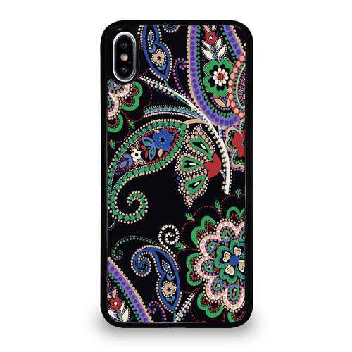 coque custodia cover fundas iphone 11 pro max 5 6 7 8 plus x xs xr se2020 C28250 PARISIAN PAISLEY VERA BRADLEY 7 iPhone XS Max Case