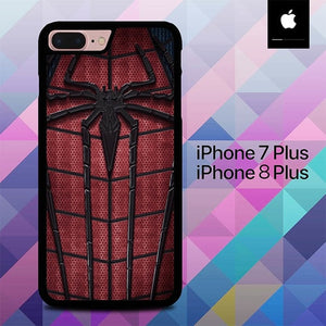 Spiderman Custome O0864 fundas iPhone 7 Plus , iPhone 8 Plus