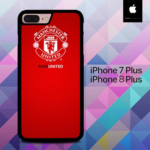 Mancaster United Im United O1004 fundas iPhone 7 Plus , iPhone 8 Plus