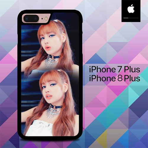 Blackpink Lisa Face Sexy O5055 fundas iPhone 7 Plus , iPhone 8 Plus