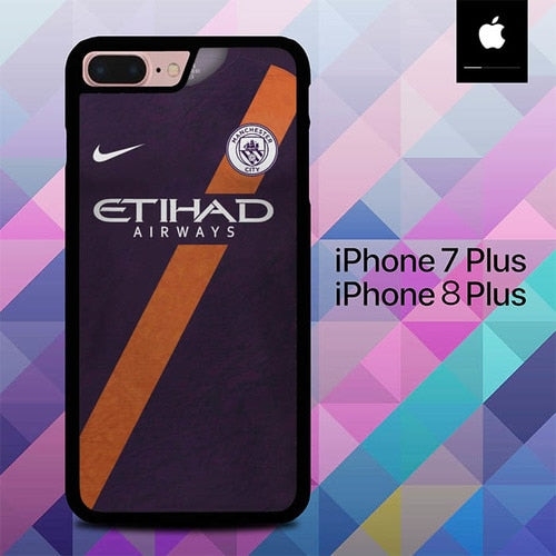 Jersey Mancaster City O6551 fundas iPhone 7 Plus , iPhone 8 Plus