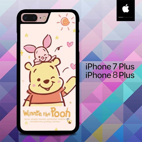 Winnie the Pooh O6721 fundas iPhone 7 Plus , iPhone 8 Plus
