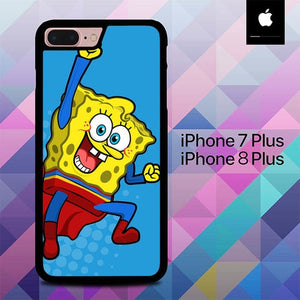 Spongebob Superman O7530 fundas iPhone 7 Plus , iPhone 8 Plus