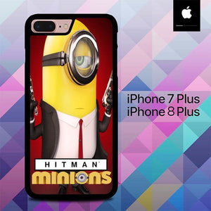 Free Hitman Minion O7554 fundas iPhone 7 Plus , iPhone 8 Plus