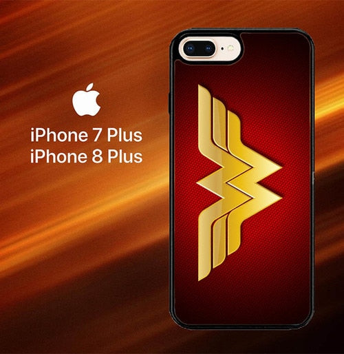 Wonder woman Logo F0248 fundas iPhone 7 Plus , iPhone 8 Plus