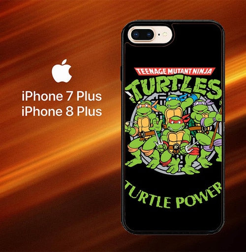 Teenage Mutant Ninja Turtles TMNT Heroes Cartoon F0230 fundas iPhone 7 Plus , iPhone 8 Plus