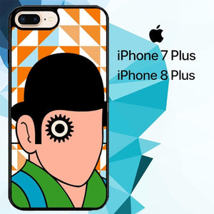 A Clockwork Orange Eye Hat Z2562 fundas iPhone 7 Plus , iPhone 8 Plus