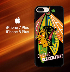 Chicago Blackhawks Z3106 fundas iPhone 7 Plus , iPhone 8 Plus