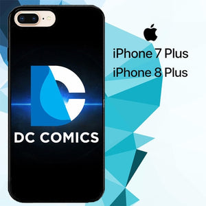 dc universe Z3676 fundas iPhone 7 Plus , iPhone 8 Plus