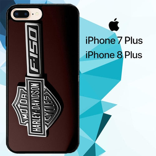 Harley Davidson Logo F150 Z4994 fundas iPhone 7 Plus , iPhone 8 Plus