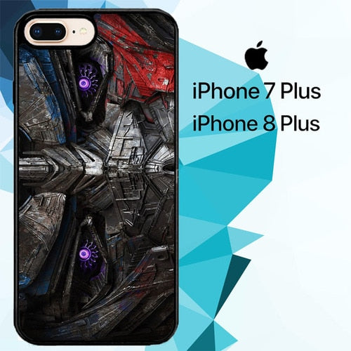 The Last Knight Optimus Prime Face Z5002 fundas iPhone 7 Plus , iPhone 8 Plus