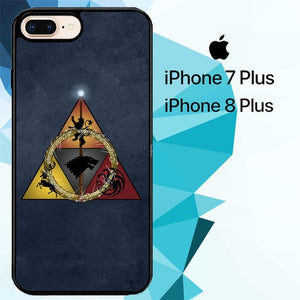 GOT Logo Z4915 fundas iPhone 7 Plus , iPhone 8 Plus