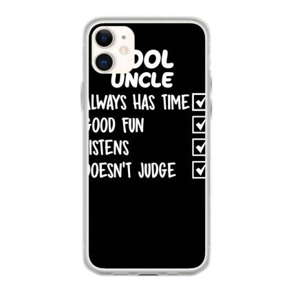 cool uncle funny fundas iphone 11