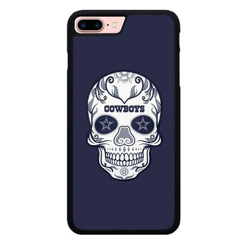 Dallas Cowboys Skull X00388 fundas iPhone 7 Plus , iPhone 8 Plus
