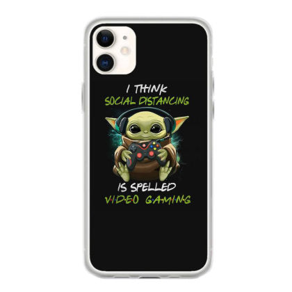 i think social distancing spelled video gaming fundas iphone 11