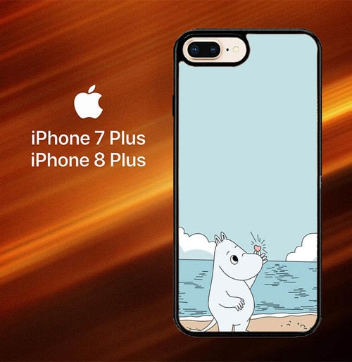 Moomin L0032 fundas iPhone 7 Plus , iPhone 8 Plus - funda8cover