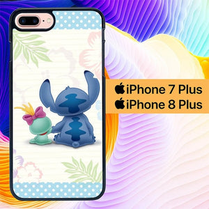 Stitch Wallpaper L0277 fundas iPhone 7 Plus , iPhone 8 Plus