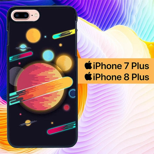 Sharing Space Wallpaper 2 L0692 fundas iPhone 7 Plus , iPhone 8 Plus