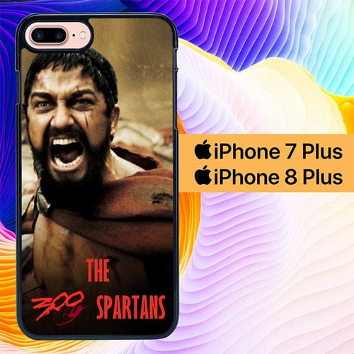 the 300 spartans L0907 fundas iPhone 7 Plus , iPhone 8 Plus