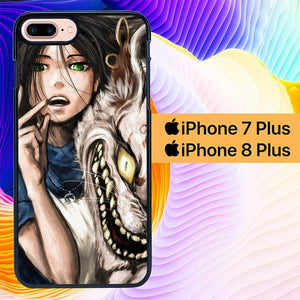 Alice Madness Return L1204 fundas iPhone 7 Plus , iPhone 8 Plus