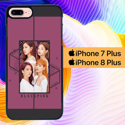 Blackpink Team Personil L3005 fundas iPhone 7 Plus , iPhone 8 Plus