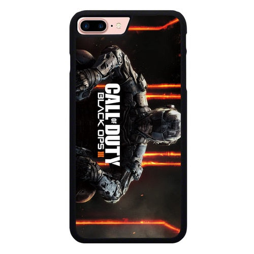 Call Of Duty Black Ops L3030 fundas iPhone 7 Plus , iPhone 8 Plus