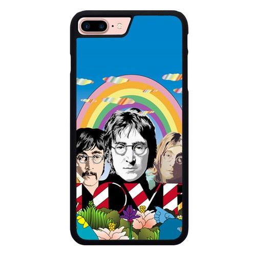 Jhon Lennon Peace and Love L3137 fundas iPhone 7 Plus , iPhone 8 Plus