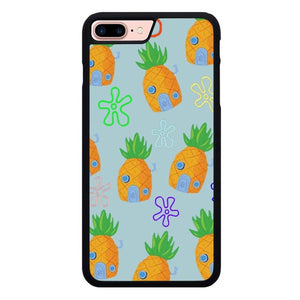 Spongebob Home Pattern L3258 fundas iPhone 7 Plus , iPhone 8 Plus