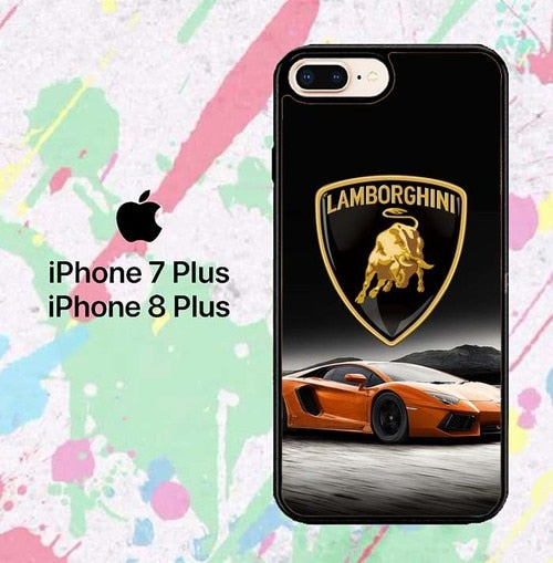 lamborghini W8721 fundas iPhone 7 Plus , iPhone 8 Plus - funda8cover